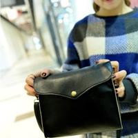 Tas selempang kecil wanita elegan bahan kulit impor korea murah FTS016 b535d491be
