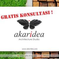 Jual Jasa Arsitek (Desain Rumah Sehat & Murah) Akaridea Studio Murah