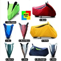 Body Cover Motor Waterproof /Tutup Motor matic 100% Polyster