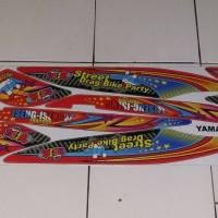 striping/sticker variasi yamaha mio J thailook merah