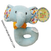 Baby Grow- Boneka Mainan Bayi Anak- Rattle/Teether Bayi Anak-Elephant2
