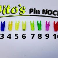 Pin Nock Hito's Archery/ Panahan