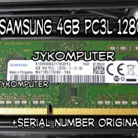 Ram Laptop SAMSUNG 4GB DDR3 PC3L 12800 Memori Sodim DDR3L 4 GB 1600
