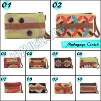 Jual tas handphone tablet 8 inch wanita motif etnik murah MG Clutch murah Murah