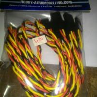 harga Nal Heavy Duty Servo Cable Ext 450mm Twisted 22awg (4pcs) Tokopedia.com