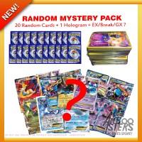 Jual Promo Paket Kartu Pokemon Random Mystery Pack Original + Bonus Murah