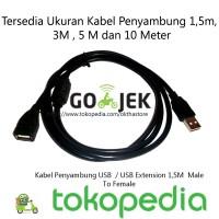Kabel Penyambung USB / USB Extension 1,5M Male To Female HIGH QUALITY