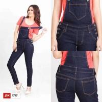Jual Celana Panjang Overall Jumsuit Kodok Wanita JSK Jeans (3 varian) Murah