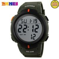 SKMEI jam tangan pria digital Pioneer Sport DG1068 Army hijau