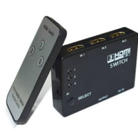 HDMI SWITCH 3 PORT FULL HD 1080P WITH REMOTE / HDMI SWITCHER