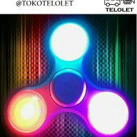 Jual FIDGET SPINNER LED IMPORT Murah