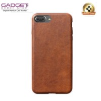 [100% Original] iPhone 7 Plus Case - Nomad Horween Leather Case Brown
