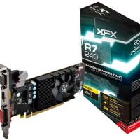 VGA XFX Radeon R7 240 2GB DDR3 Core Edition - R7-240A-CLF2
