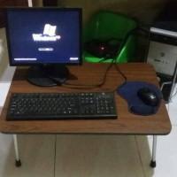 Jual meja laptop lipat besar Murah