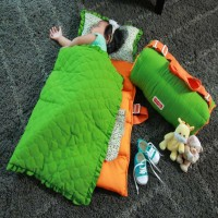 dialogue baby matras set sleeping bag + selimut hand carry traveling