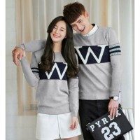 Sweater Wonder Neo Misty Black - Mantel / Busana / Fashion / Couple