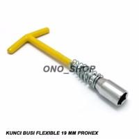 Kunci Busi Flexible 19 Mm Prohex Best Quality