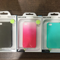 Casing Hard Case Apple iPhone 4 - 4S Merk Belkin Baru