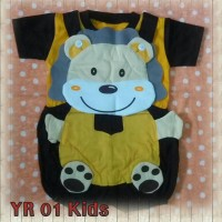 Setelan baby panda 6-15bulan