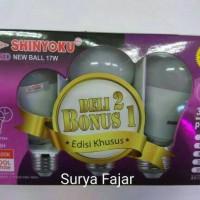 HARGA PROMO Lampu Led 17w / Shinyoku Led 17 Watt Beli 2 Bonus 1