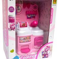 Jual Cooking Series Dus 818-50 Kitchen Set Pink - Mainan Masak-Masakan Murah