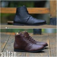 Sepatu Boots Kulit Asli SULTAN Brodo Footwear Original