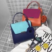 Tas Import Murah Zara Mini City Flower Pendant Colgador Sling Bag