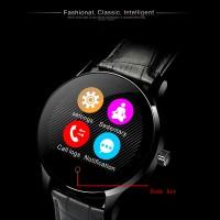 Smartwatch K88H KULIT HITAM HEART RATE ANDROID TERCANGGIH BERKUALITAS