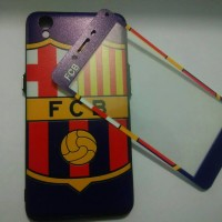 Case Oppo Neo 9 A37 Plus Tempered Glass Full Gambar Barcelona