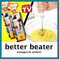 Better Beater Hand Mixer Otomatis Manual ISI 2 PCS