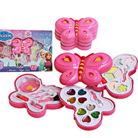 Jual Mainan Make Up Beauty Set/Alat Dandan Anak Frozen Butterfly 3 Susun Murah