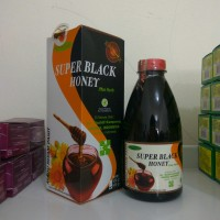 Madu Hitam Pahit Super Black Honey, Penambah Stamina, Diet Aman