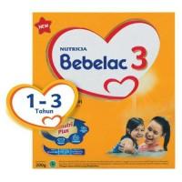 Jual BEBELAC 3 200G RASA MADU BOX NUTRICIA BEBENUTRI PLUS USIA ANAK 1-3 THN Murah