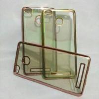 Xiaomi Redmi 3X Case List Croom Softcase Kondom Hp BKN Flipcover