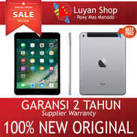 Apple iPad Mini 4 WiFi Only WHITE - 128GB - RAM 2GB - GARANSI 2 TAHUN