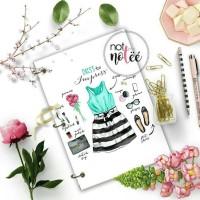 Notebook Custom - Fashion OOTD 1