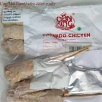 DonKing Tornado Chicken + ekstra sambal & kremes - Enak, Murah & Halal