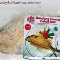 DonKing Bandeng Presto Cabut Duri (Ekstra sambal & kremes),Halal,Murah