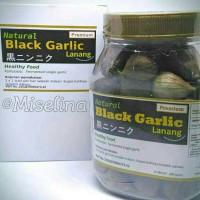 Natural Black Garlic Lanang Premium by BPPT Botol Besar Harga Termurah