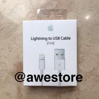 Jual Kabel Data Iphone 5 6 7 Ipad mini Ipod Touch Lightning Cable Data Murah