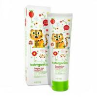 Babyganics Fluoride Free Toothpaste Strawberry 113gr