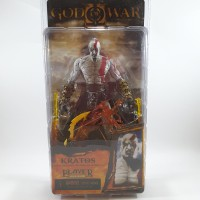 NECA Kratos God Of War II with Flaming Blade Of Athena Figure NEW MIB