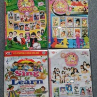 VCD lagu anak bahasa indonesia dan inggris 4disc original
