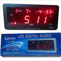 Jam Dinding LED Digital Merk. Caixing CX-2158