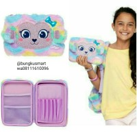 smiggle fluffy swirl hardtop pencil case