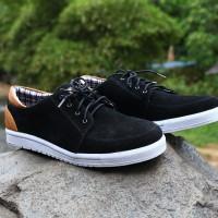 Sepatu Casual Pria/sneaker/sneakers Jack Ankona Black