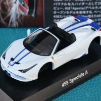 Kyosho 1:64 Ferrari 458 Speciale A White