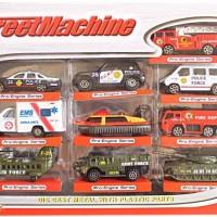 Mainan Mobil Hotwheels Die Cast Pemadam Ambulance