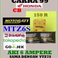 Aki Gel Kering Honda Cbr 150 R Motobatt Mtz6s /ytz7s Aki Gs Yuasa