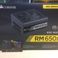 Corsair RM650x- 650 Watt 80 PLUS Gold Certified Fully Modular